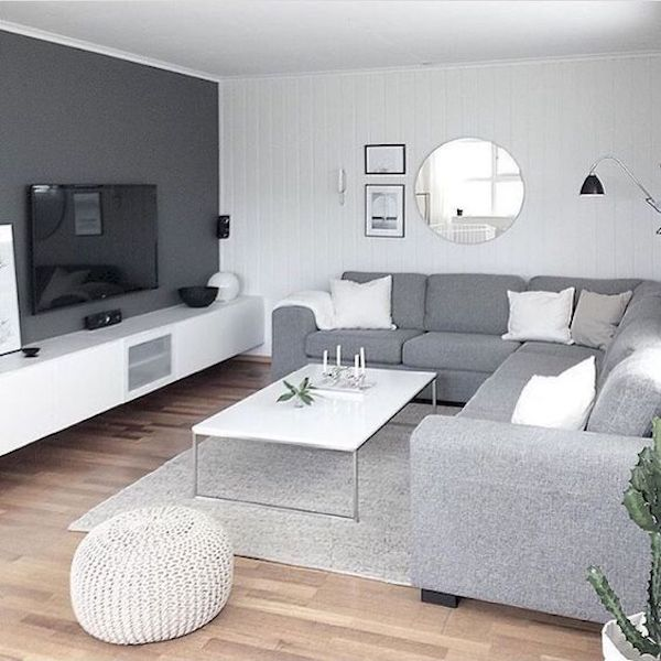 amenajare living mic apartament