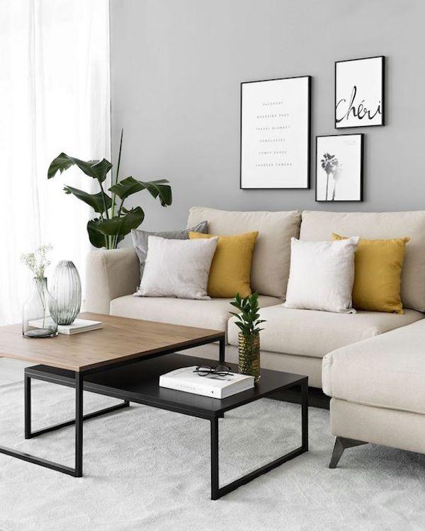 amenajare living modern idei mobilier masuta living