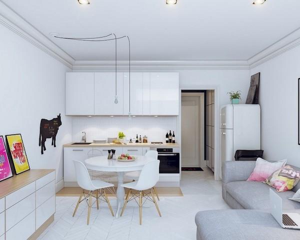 amenajare living modern mobila pentru living