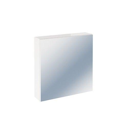 Dulap baie alb cu oglinda din PAL hidrofugat