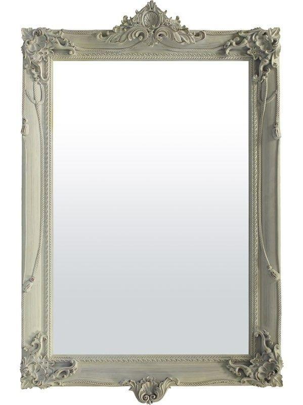 Oglinda de perete cu rama decorata in stil romantic
