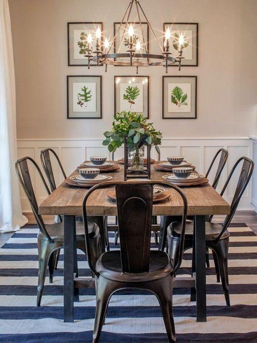 Scaun bucatarie din metal lemn negru retro minimalist mobilier bucatarie loft in sufragerie
