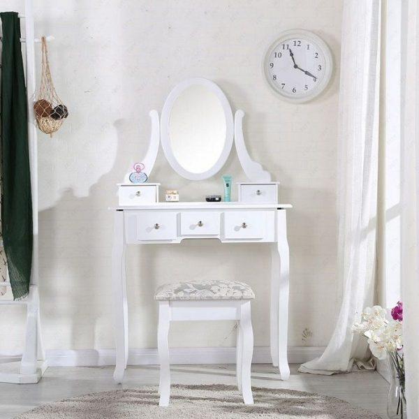 masa alba toaleta cosmetica machiaj oglinda masuta vanity 539