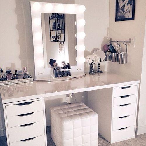 masa de toaleta cu lumini masuta toaleta cu oglinda si sertare