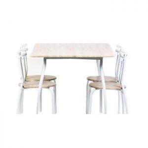 Mobila de bucatarie, set masa bucatarie cu 4 scaune