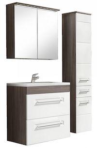 set mobilier baie modern dulap oglinda lavoar dulap inalt mobilier set baie modern