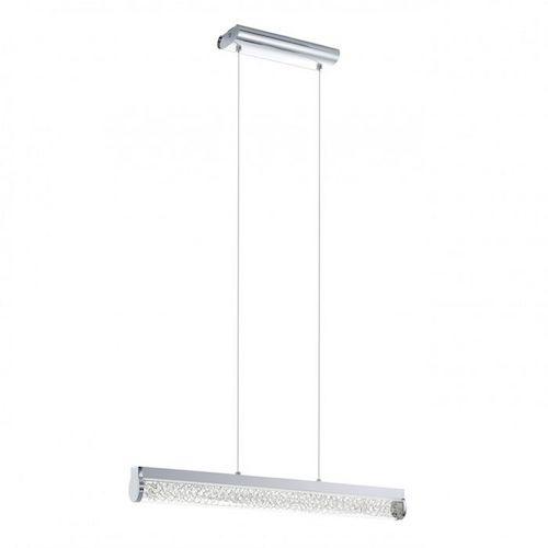 Pendul LED, Crom, Alb, LED, Eglo Trevelo, 24W