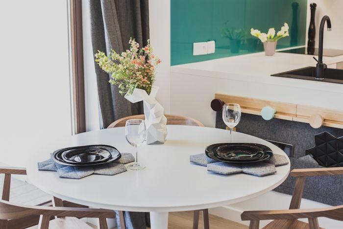 amenajare loc de luat masa modern amenajare garsoniera