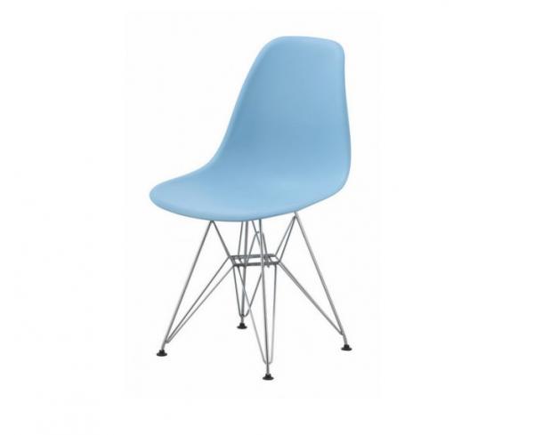 scaun bucatarie albastru deschis