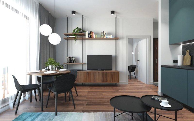 amenajari apartamente 2 camere mici design interior apartament mic