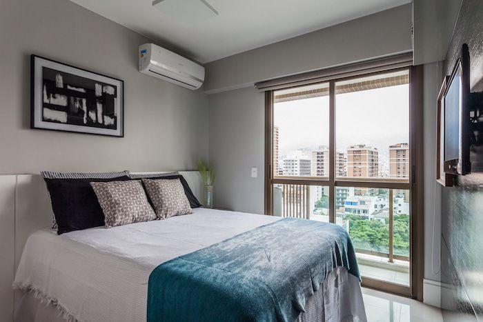 amenajari interioare amenajare dormitor modern cu balcon