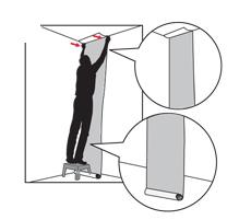 aplicarea tapetului cum se aplica tapetul pe perete 3