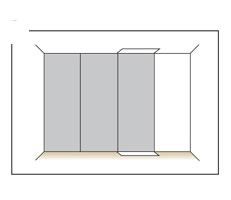 camera cu tapet cum se aplica tapetul pe perete 6