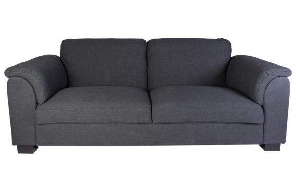 canapea gri moderna 230cm canapea 3 locuri stofa