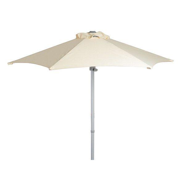 Umbrela gradina din aluminiu 2m otel crem mobilier gradina ieftin