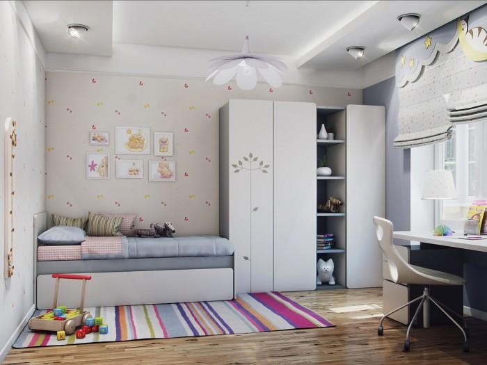 amenajare camera baieti mobilier copii modern