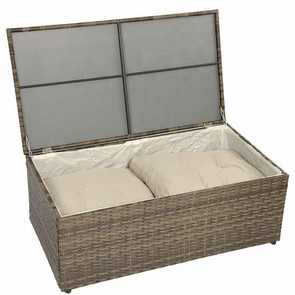 lada set mobilier gradina pentru perne