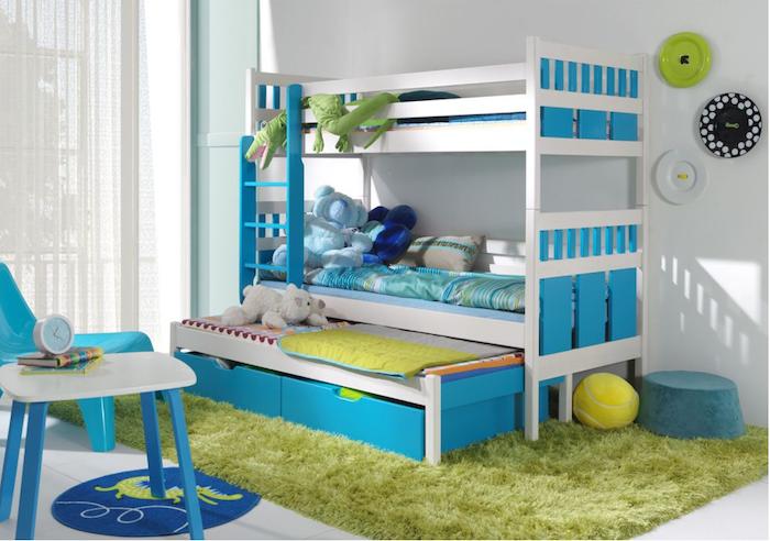 pat etajat pentru copii modern mobilier camera copii