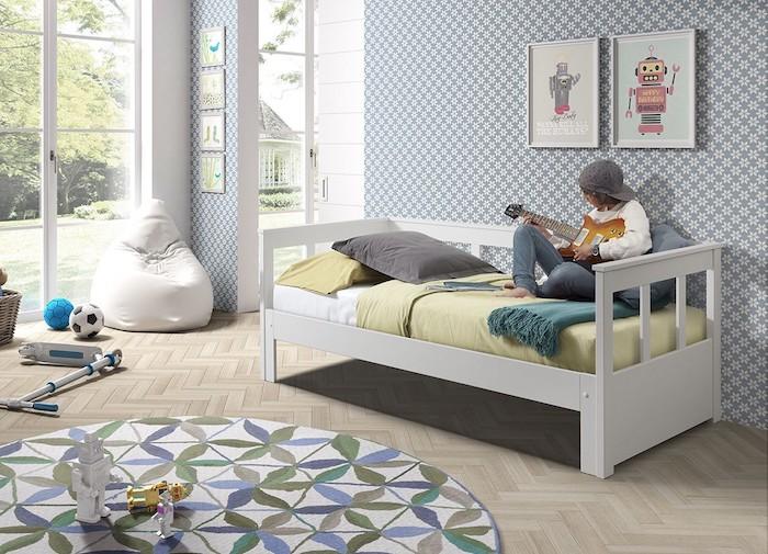 pat simplu pentru camera copii amenajare idei moderne