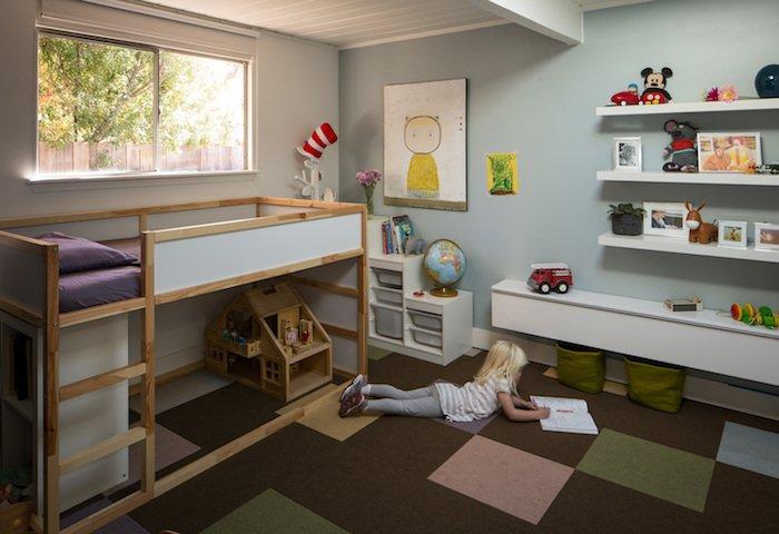pat suprapus copii amenajare camera copii moderna