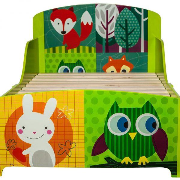 patut copii mobilier camera copii pat red fox owl