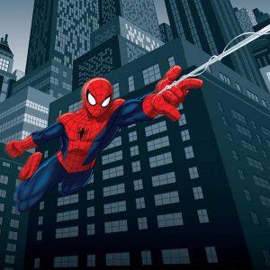 tapet cu spiderman fototapet spiderman pentru camera copii
