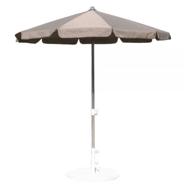umbrela rotunda gri 2m mobilier gradina umbrele