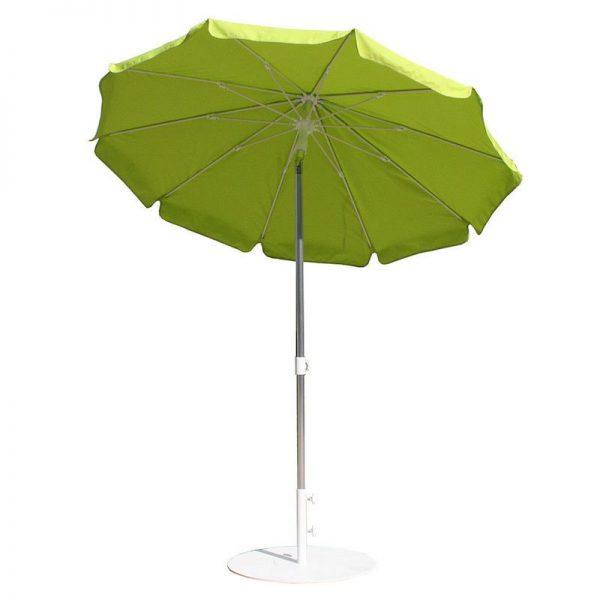 umbrela rotunda verde 2m mobilier gradina umbrele moderne ieftine
