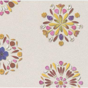 Tapet model flori mandala