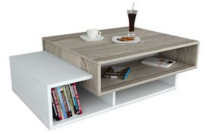 Masuta cafea Wooden Art, 105x32x60 cm
