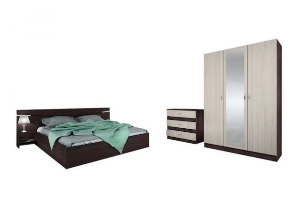 Set Mobilier dormitor PAL modern ieftin