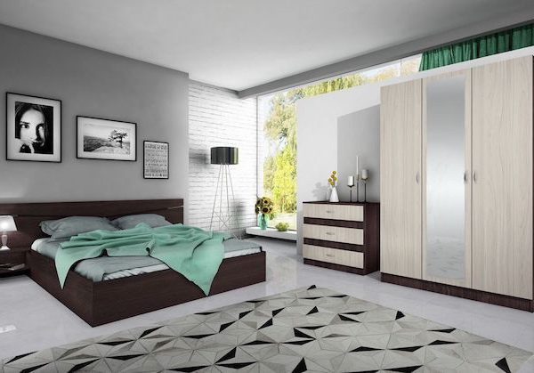 Set Mobilier dormitor PAL modern ieftin dormitor modern