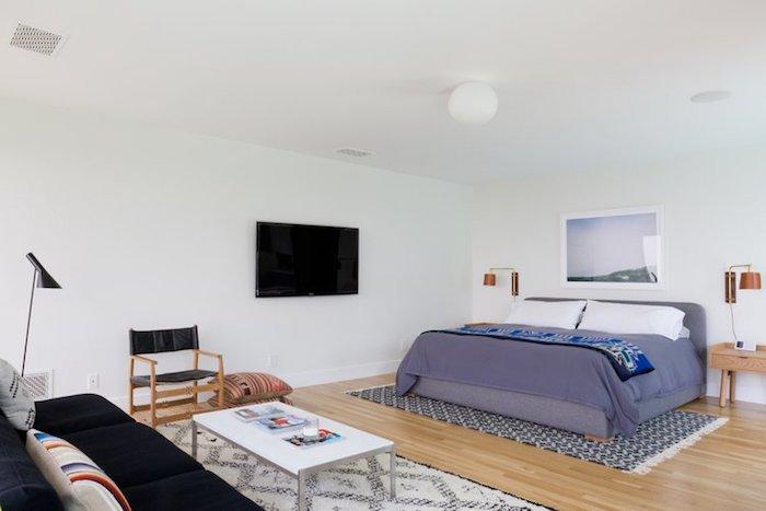 amenajare dormitor casa modern simplu