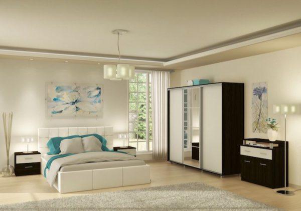 amenajare dormitor in stil modern set dormitor
