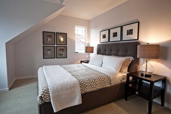 amenajare dormitor mansarda idei dormitor mansarda