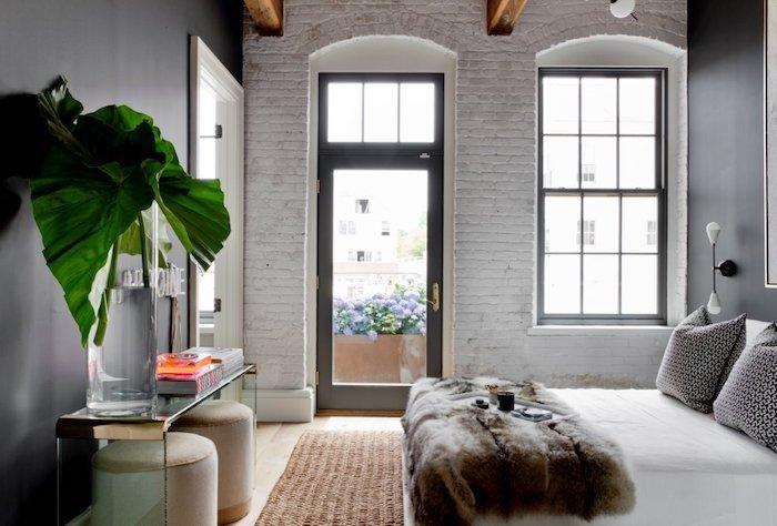 amenajare dormitor modern in stil modern