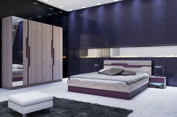 amenajare dormitor modern pat dulap set dormitor modern