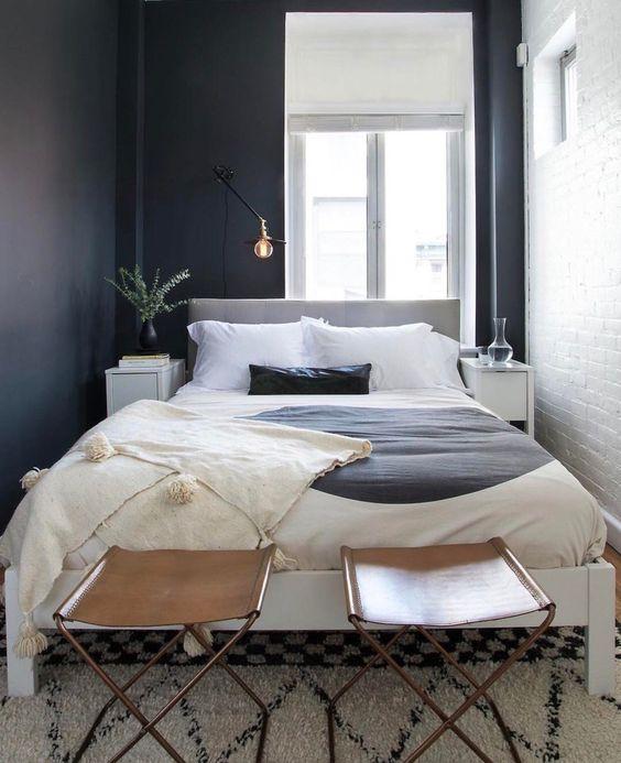 amenajari dormitoare simple mici