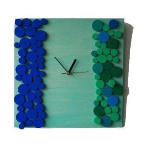 ceas decorativ din lemn ceas de perete decorativ modern design unic