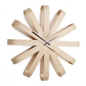 ceas decorativ din lemn modern design ceas de perete