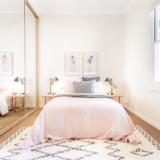 idei amenajare dormitor ingust