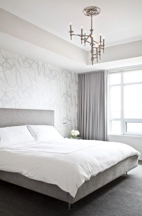 idei amenajare dormitor tapet
