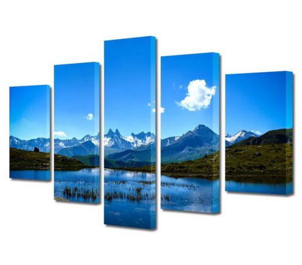 tablou peisaj 120x225cm nor singuratic