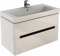 Mobilier baie, Masca lavoar, Alb, KOLO Modo