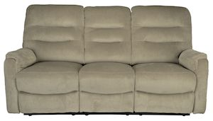 Canapea Kring Sylvie cu 3 locuri, 2 reclinere si 3 trepte de confort, Bej