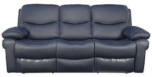 Canapea Kring Royal, 2 reclinere si 3 trepte de confort, Gri