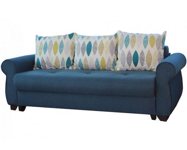 Canapea extensibila Eliza 240 x 102 x 95 cm Albastru