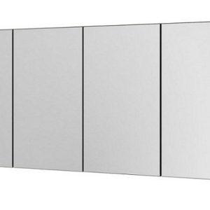 Dulap baie suspendat cu oglinda Aquaform Maro inchis 120x16x60 cm