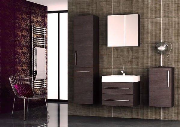 amenajare baie moderna mobilier baie Dulap suspendat cu oglinda, AquaforDulap suspendat cu oglinda, Aquaform, 60x60 cm