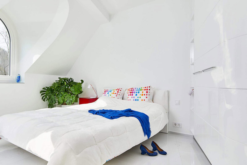 amenajare interoare apartament dormitor modern